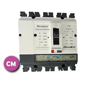 Interruptores caja moldeada y protección diferencial industrial